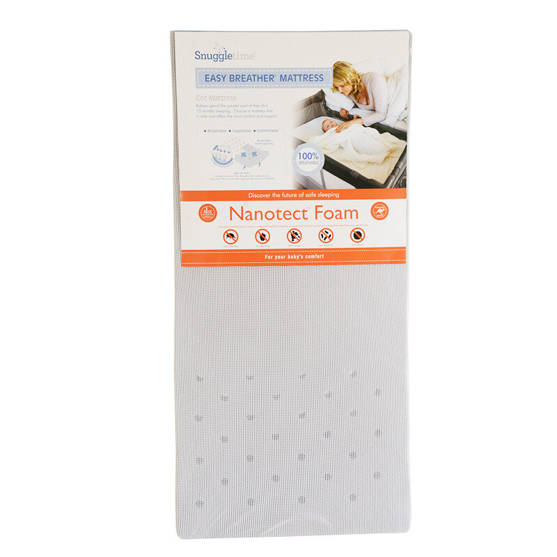 NANOTECT- Easy Breather Mattress- Large Cot