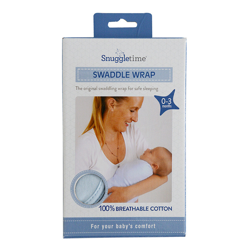 Snuggletime Swaddle Wrap - Blue