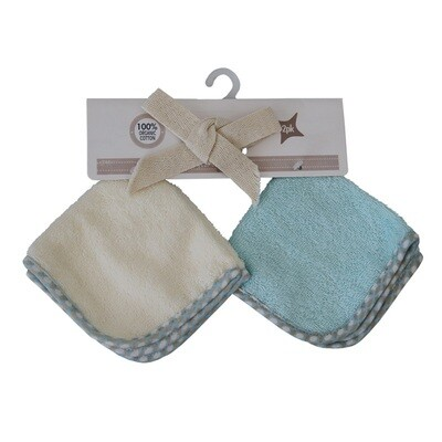 Washcloth Set Blue