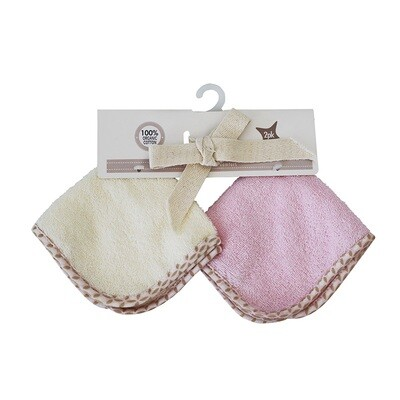 Washcloth Set Pink