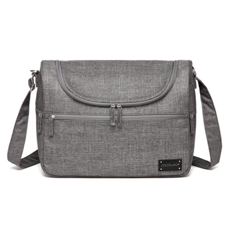 Nappy Bag - Classic Grey Travel Bag