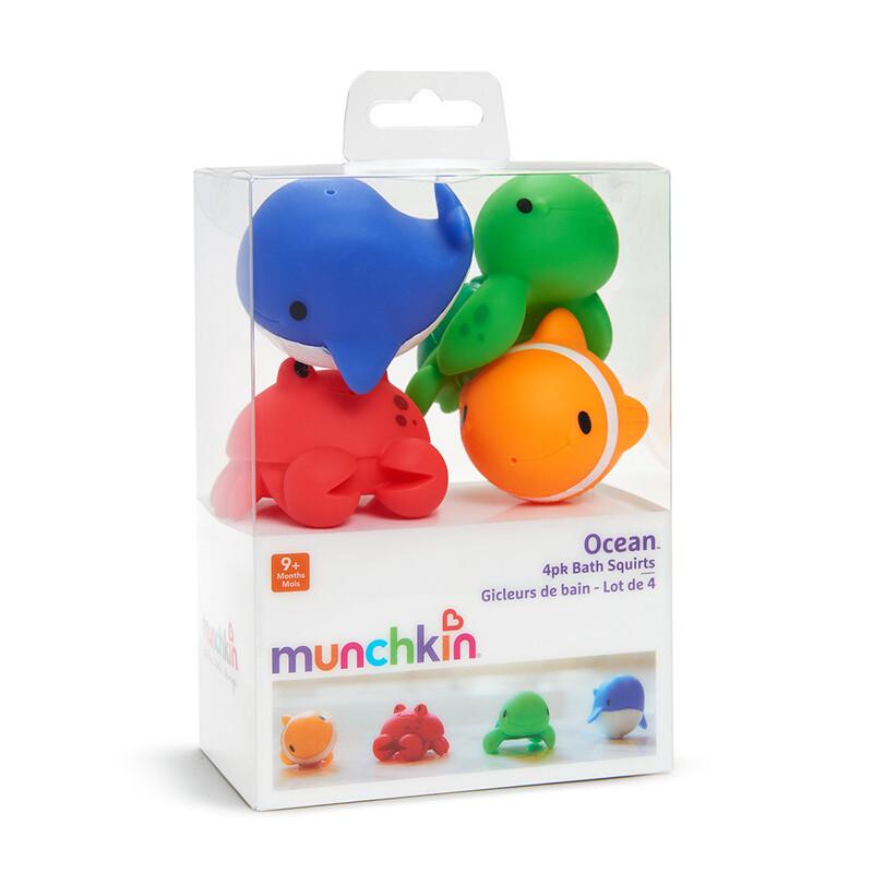 Munchkin Ocean Bath Squirts - 4 Pack