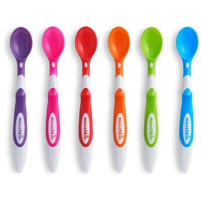 Munchkin Soft-Tip Infant Spoons - 6 Pack