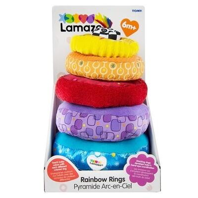 Lamaze Rainbow Stacking Rings