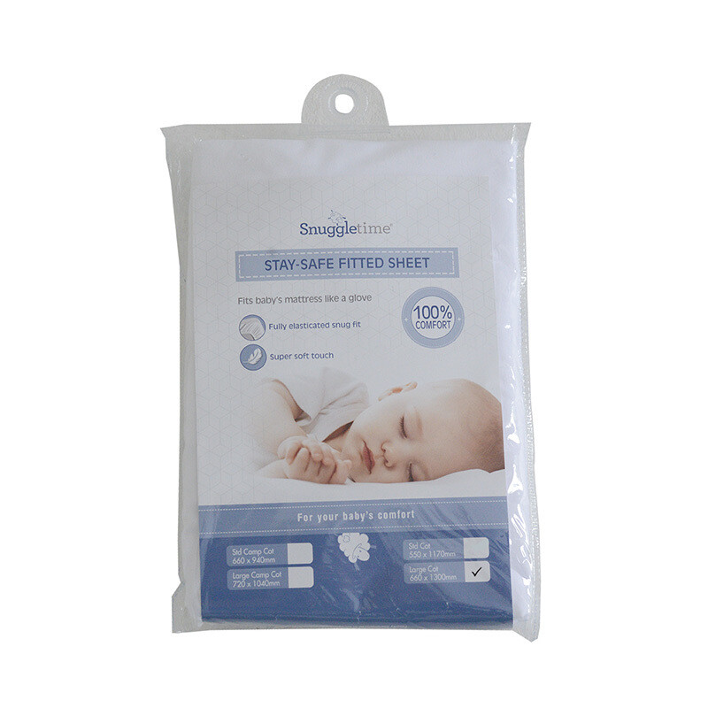 Fitted sheet cot - Stay Safe Large Cot