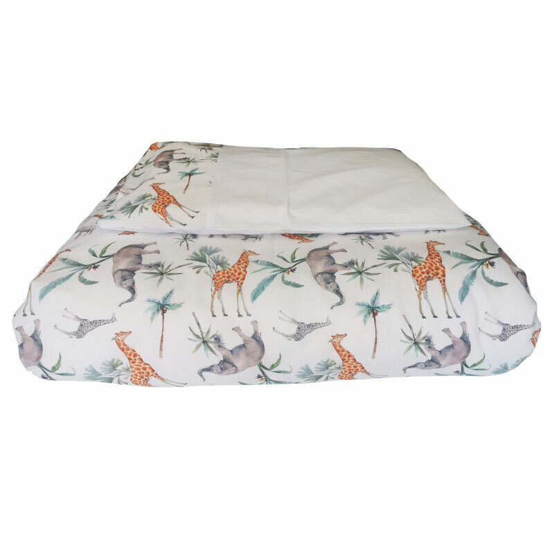 Cot Duvet Cover 6 Piece Set - Safari