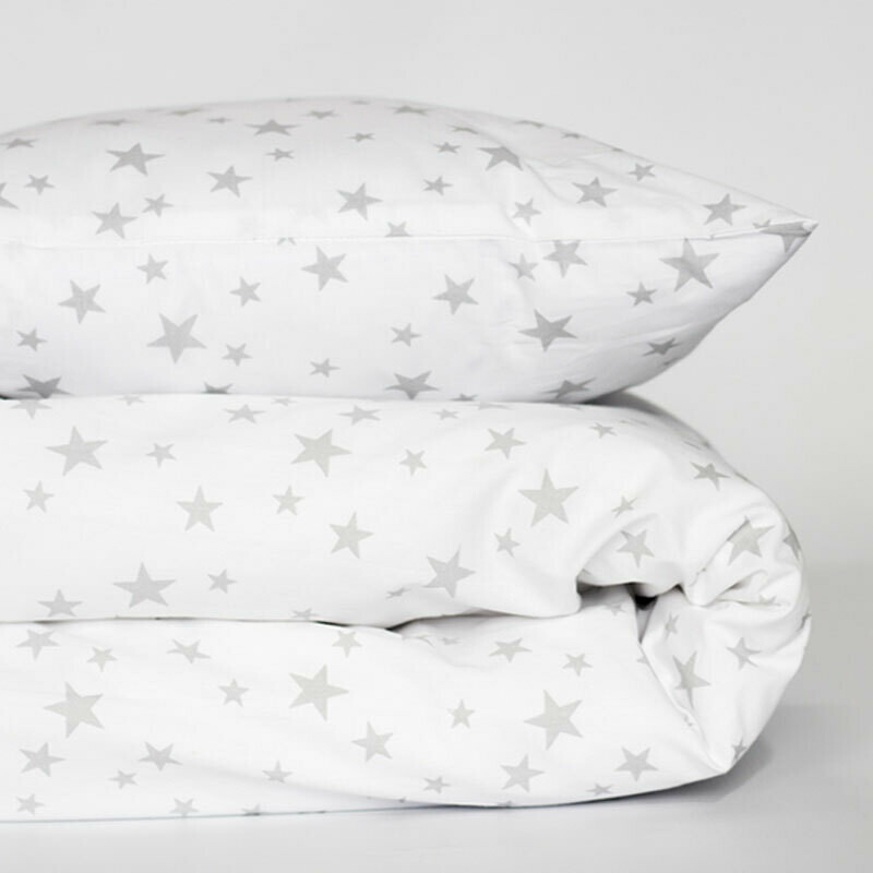 Cot duvet cover set 2 Piece - Star design