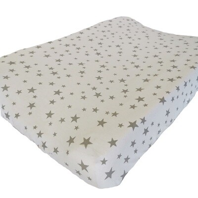 Changing Mat Cover - Stars design