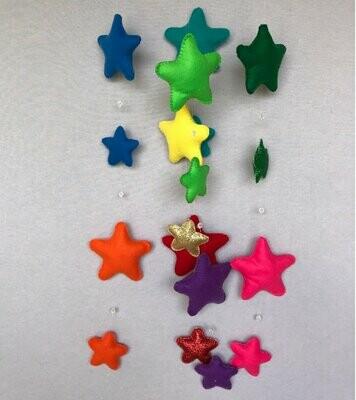Stars Cot Mobile - Felt