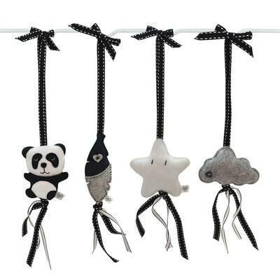 Panda Pop Swing Set