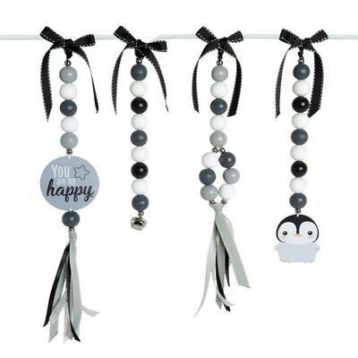 Happy Penguin Swing Set