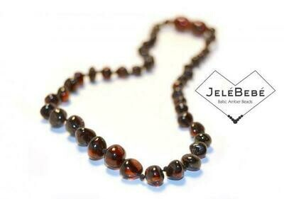 Baltic Amber Baby Necklace - TWIST CLASP