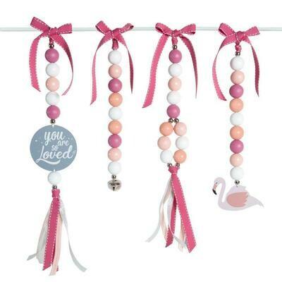 Blushing Flamingo Swing Set
