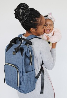 CC Oxford Back Pack Nappy Bag