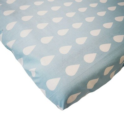 Changing Mat Cover - Teardrop Blue