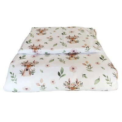Cot Duvet Cover Set - Deer
