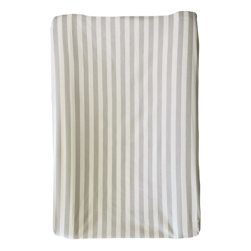Changing Mat Cover – Grey Stripe