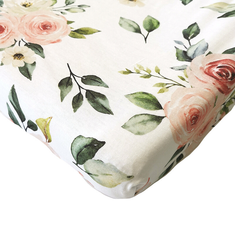 Changing Mat Cover - Rose
