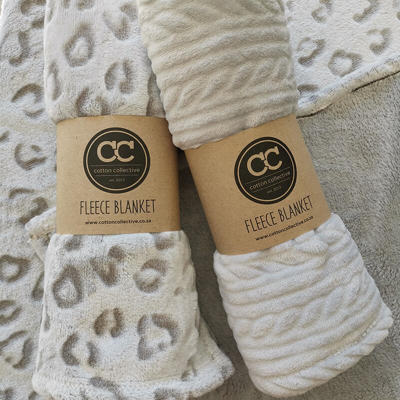 Fleece Baby Blanket -Assorted Combo