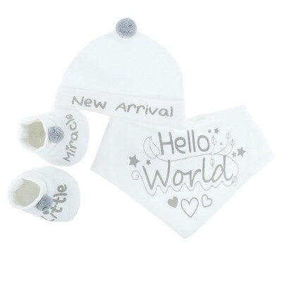 'Hello World' set for your new arrival