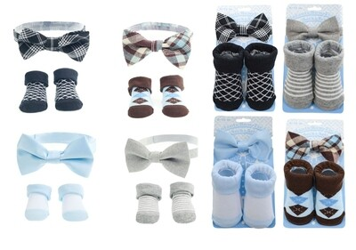 Bow tie and sock set