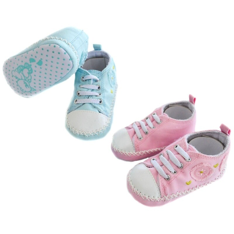Girls 'first'cotton trainers