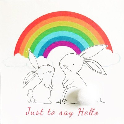 Just to Say Hello Greeting Card