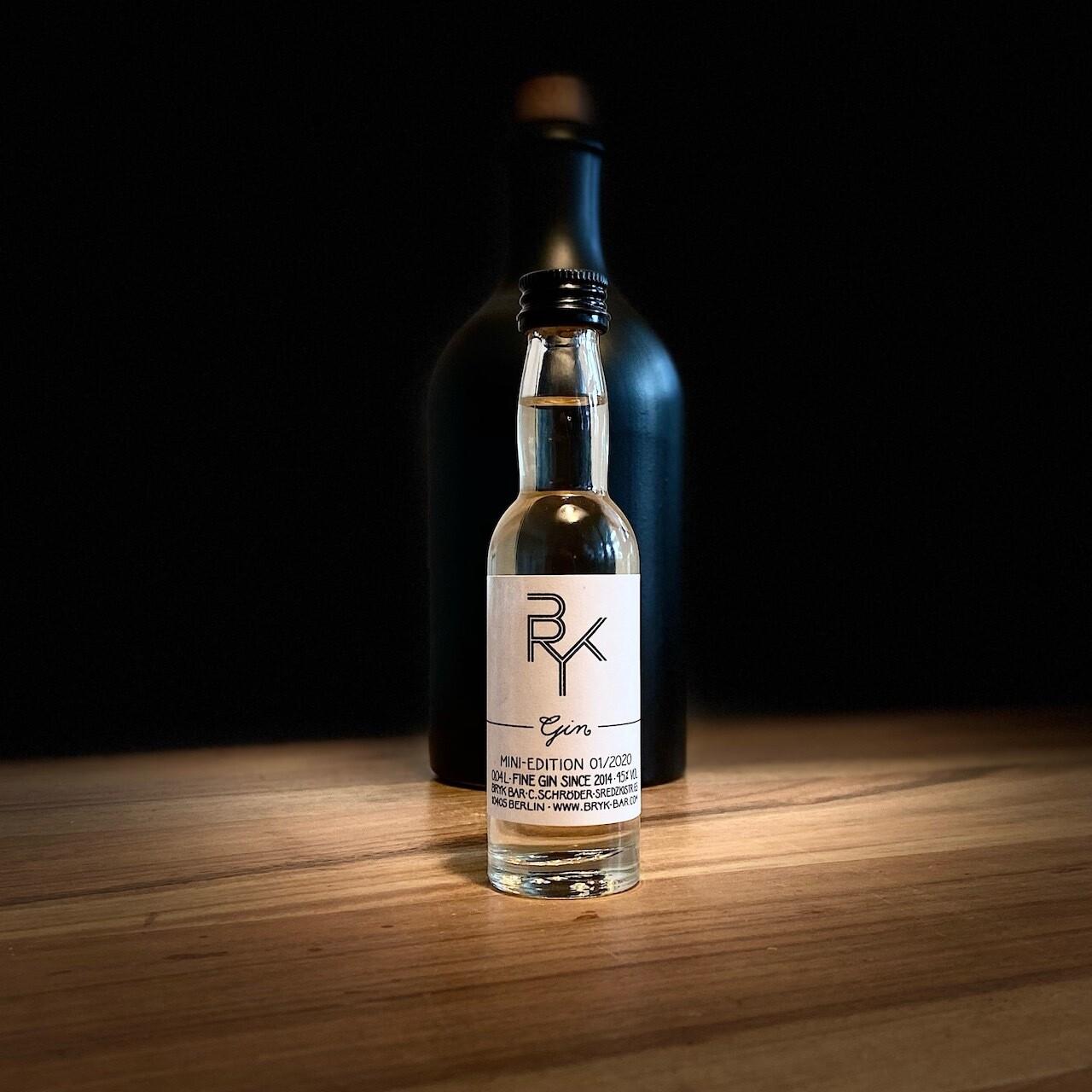BRYK GIN Flasche 0,04l 45% vol.