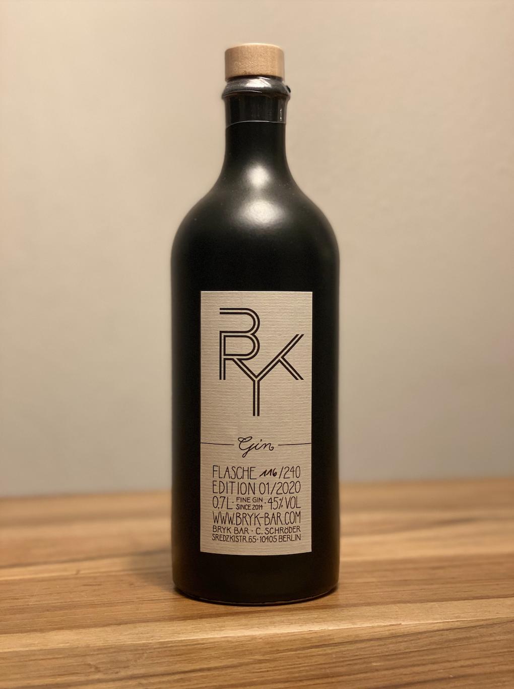 BRYK GIN Flasche 0,7l 45% vol.