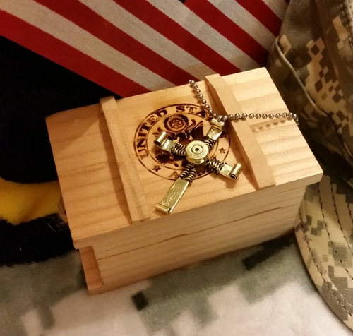 Hope & honor Bullet Cross and Ammo Box - While Supplies Last