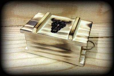 Flames & Ammo Jewelry Box