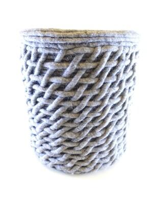Hocker Wolle