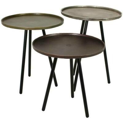 Tisch Metall 3 Ausführungen