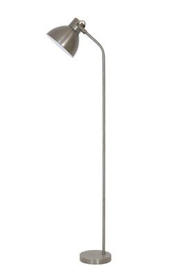 Stehlampe vintage silber