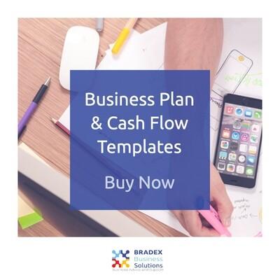Business Plan & Cash Flow Template