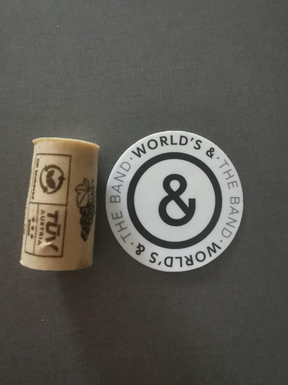 World's & Sticker