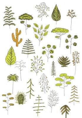 Träd Print