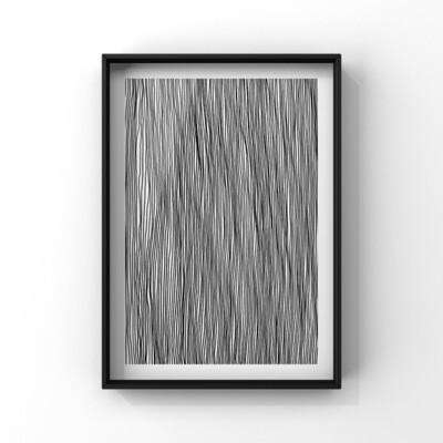 Human error, Linjer A4 Print