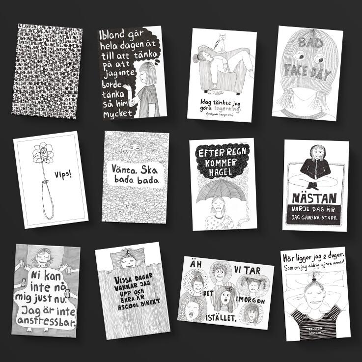 12-pack miniprints, A6