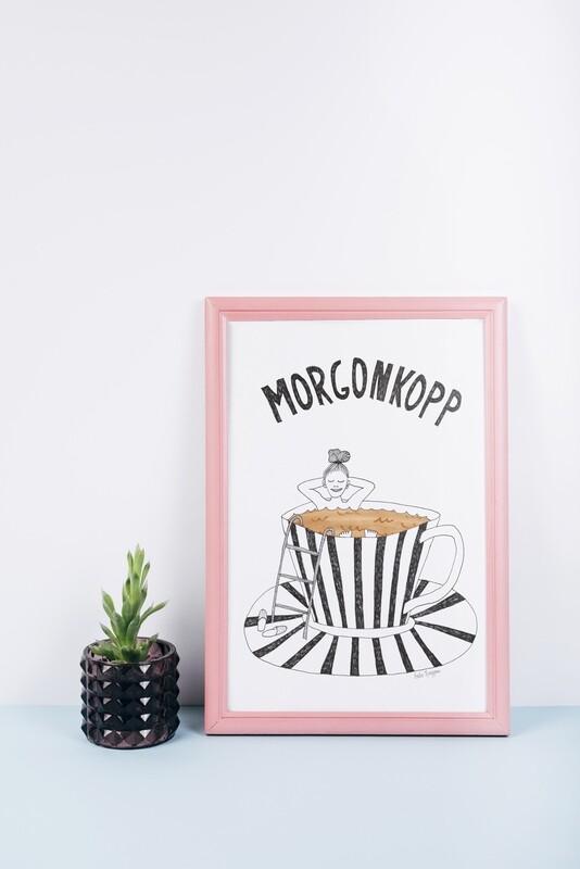 Morgonkopp | kaffe A4 Print