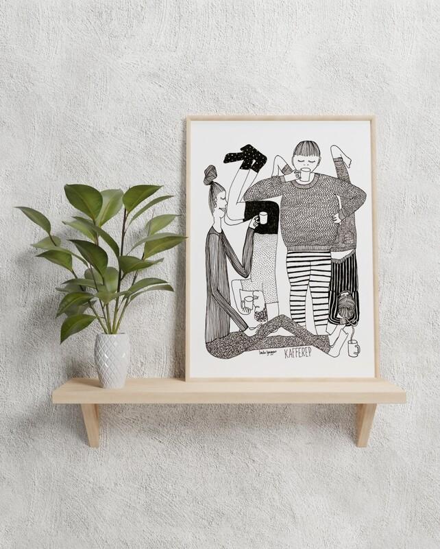 Kafferep A4 Print
