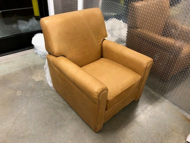 JB Durant Leather Recliner Chair