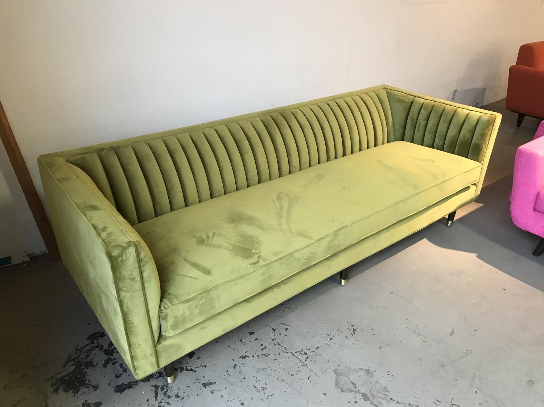 JB Chelsea Sofa (Apple Velvet aka (Royal Apple)