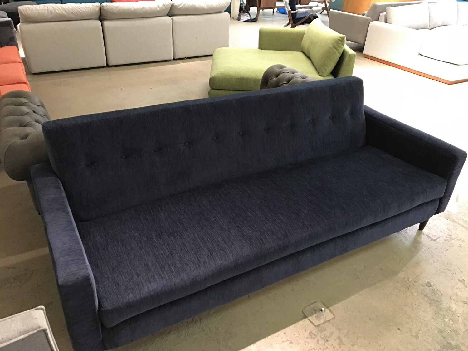JB Korver Sofa (Bentley Indigo)