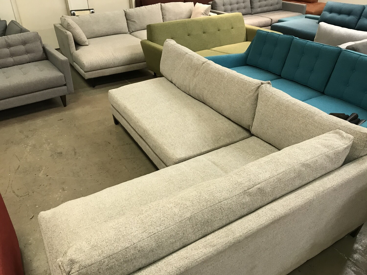 Arwen Sectional - Impact Flurry