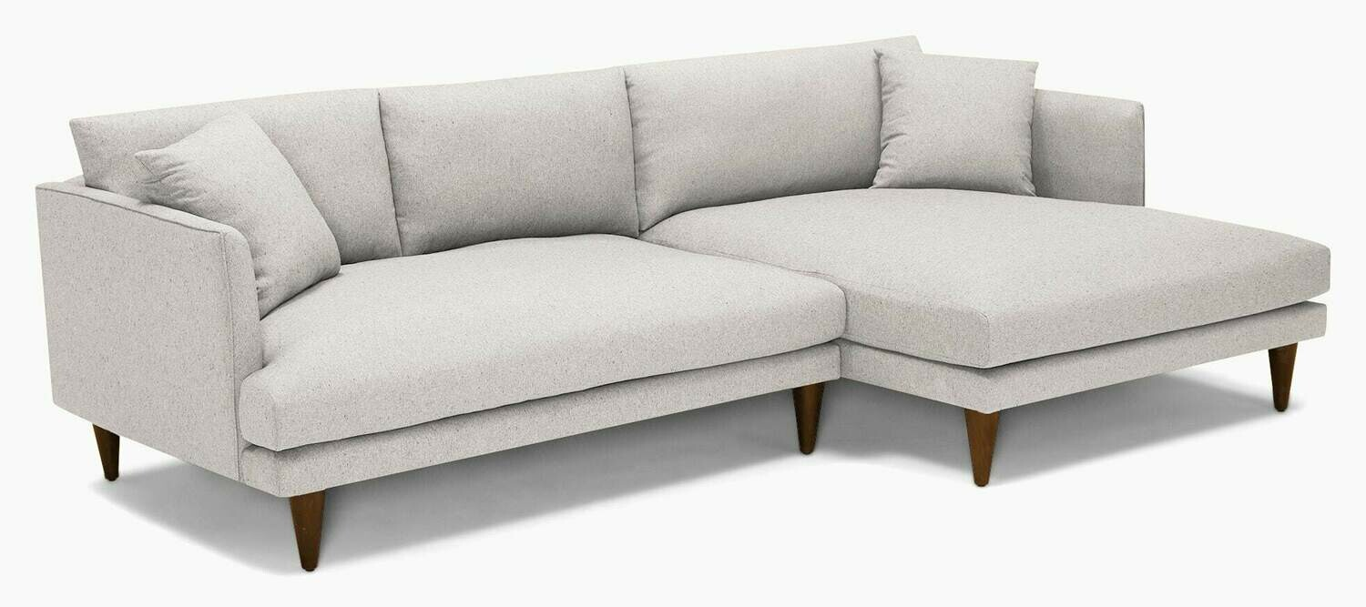 JB Lewis Sectional - Impact Flurry