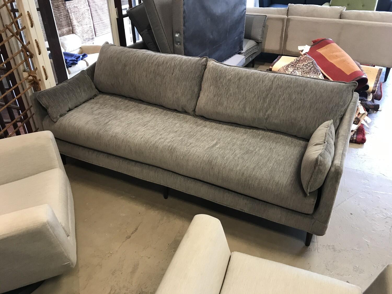 JB Slipcover Sofa - Bentley Pewter