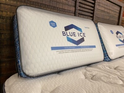 Blue Ice Pillow (Queen-Medium)