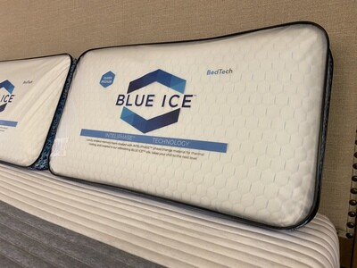 Blue Ice pillow (Queen-Low)