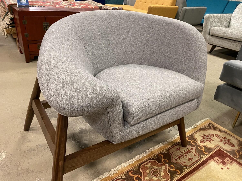 JB Louie Chair (Taylor Felt Grey) 1707